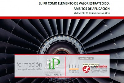 Formación de IP Innovation Practitioners: el valor estratégico del IPR