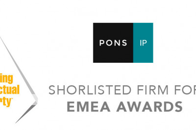PONS IP EMEA Award MIP