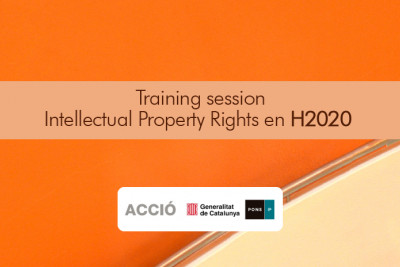Training session Intellectual Property Rights en H2020