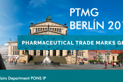 PONS IP participa en PTMG (Pharmaceutical Trademarks Group)