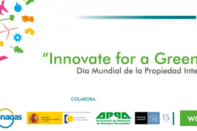 "DÍA MUNDIAL DE LA PROPIEDAD INTELECTUAL  ""INNOVATE FOR A GREEN FUTURE"""