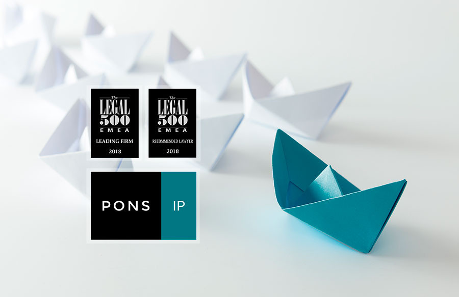 The legal 500 reconoce a pons ip por su labor en patentes for Oficina patentes y marcas barcelona